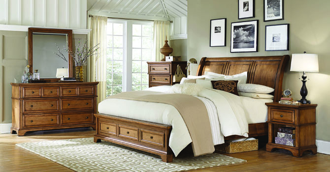 Aspenhome Alder Creek Queen Bedroom Group 1 At Walker S Furniture