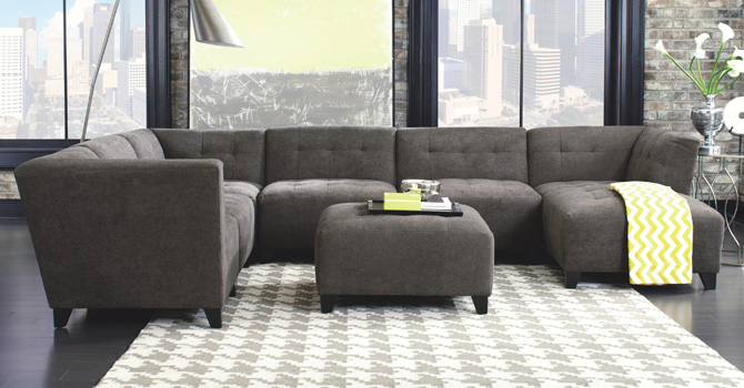 Jonathan Louis Fresno Modular Sectional at Walker's Furniture